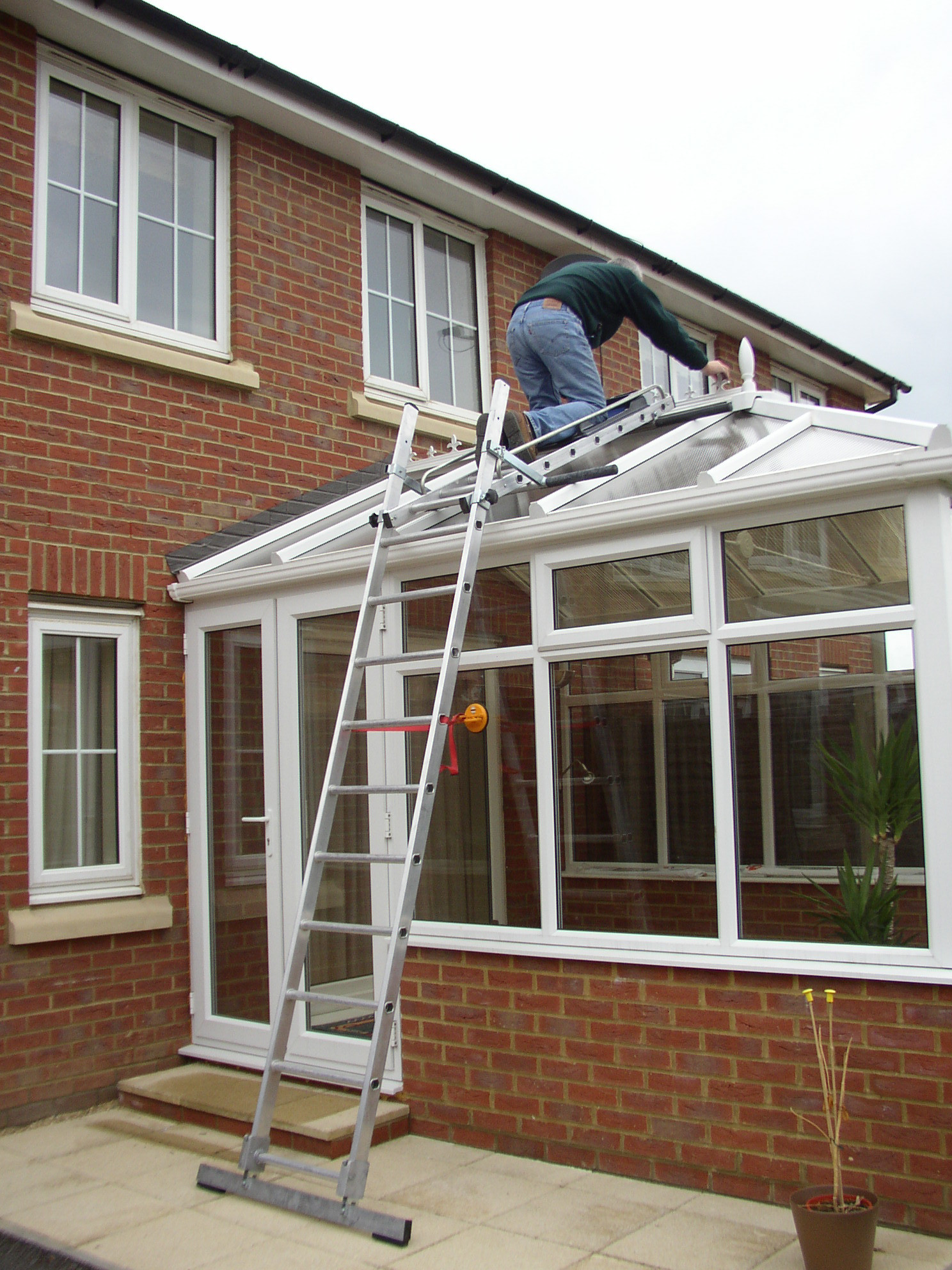 Easi Dec Conservatory Roof Access System Simplified Safety