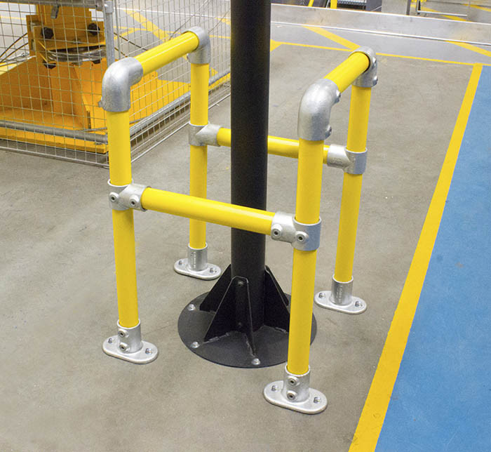 Service Barrier 500mm Simplified Safety