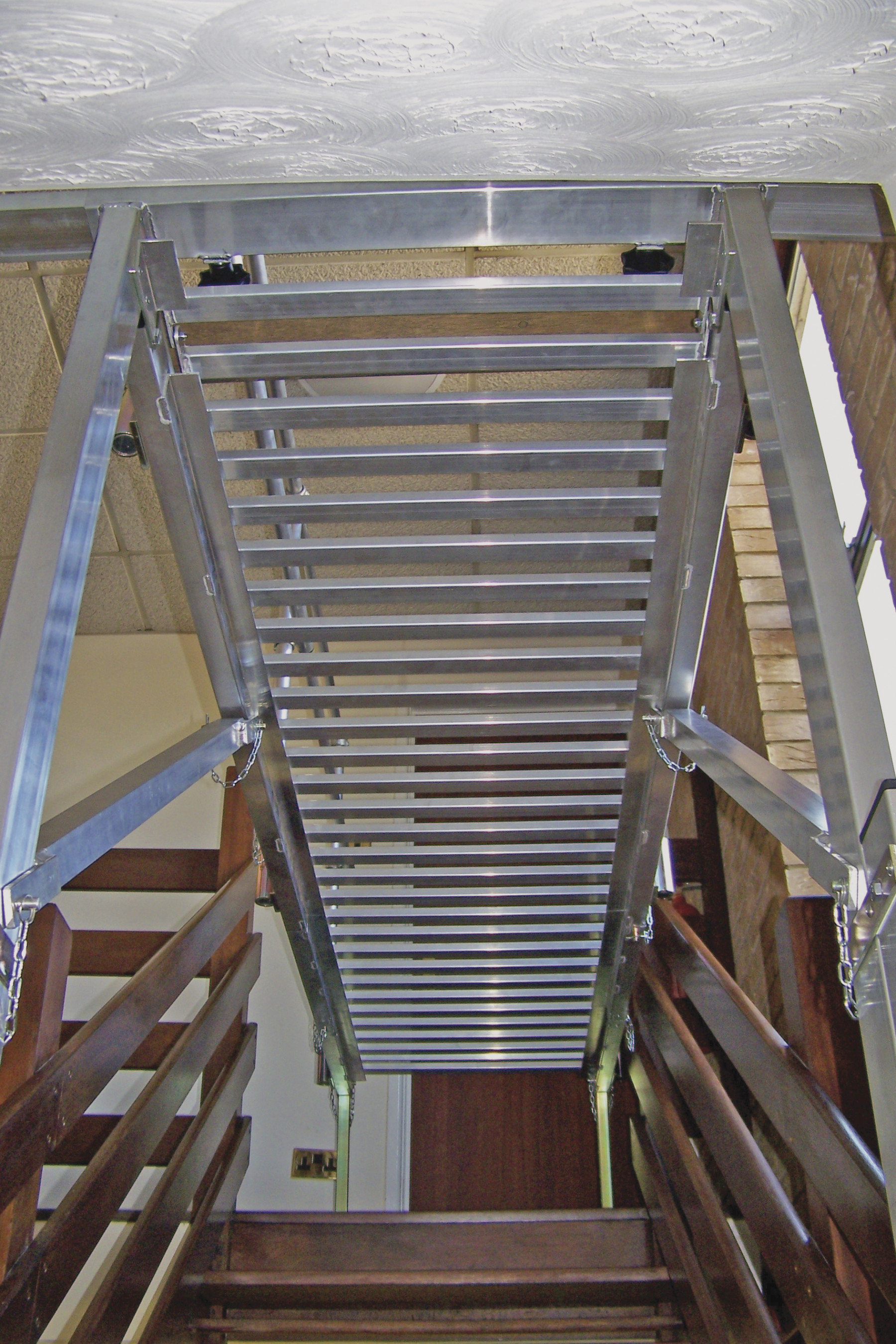 Easi Dec Walk Thru Stairwell Access Platform For