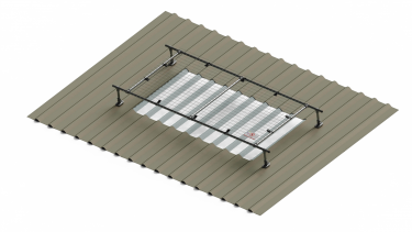 2m wide raised light cover with extension options