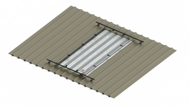 1m wide standard light cover (with extension options)