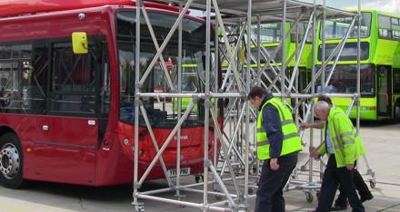 Bespoke fleet maintenance platform for Scania buses