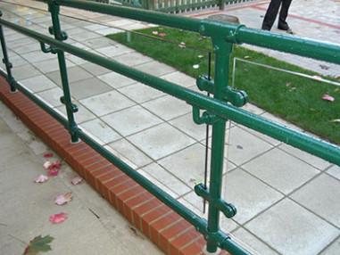 Upgrade non DDA compliant handrailing
