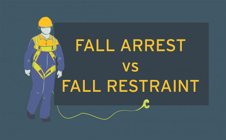 Fall arrest vs fall restraint: What is the difference?