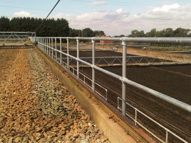 handrail for Canwick water treatment facility