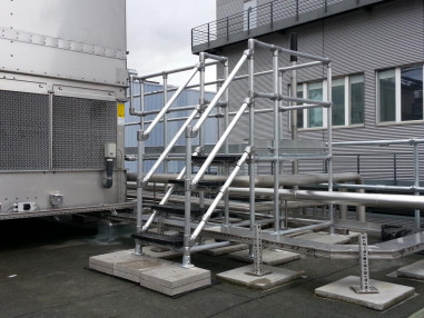 Bespoke plant access plaform