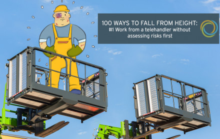 100 ways to fall from height: #1 Work from a telehandler without assessing the risks first