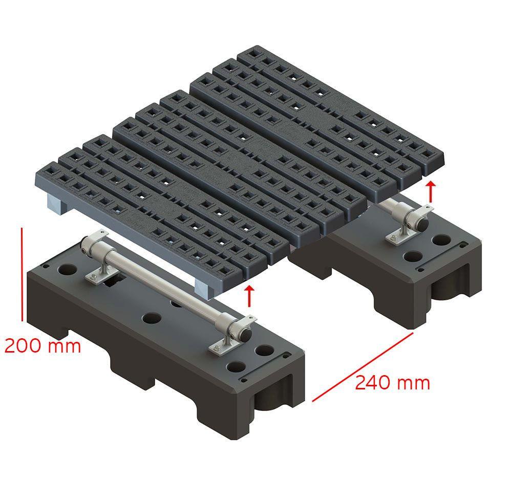 mini step over measurements