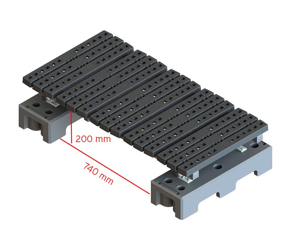 freestanding mini step over measurements