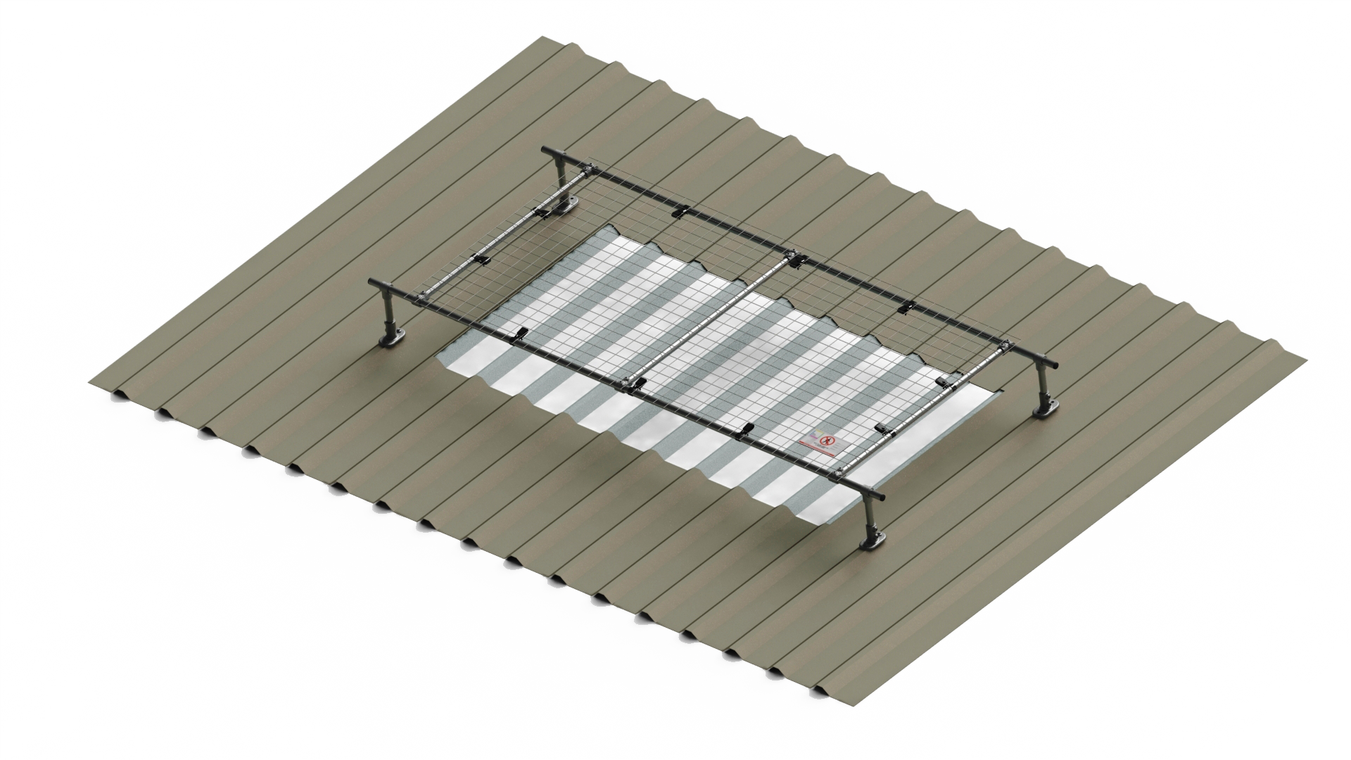 2m wide raised light cover (with extension options)
