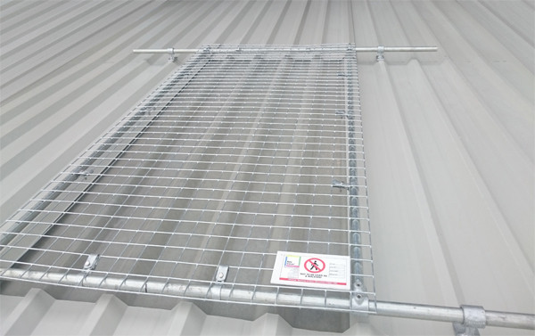 Fragile Skylight And Rooflight Protection For Metal