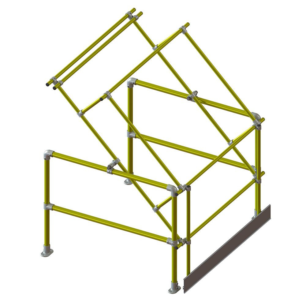 Standard Pallet Gate - Yellow (for loads 1.3m wide x 1.56m high)