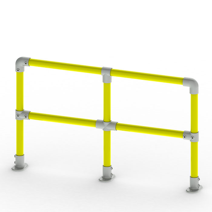 long racking protection barrier system render