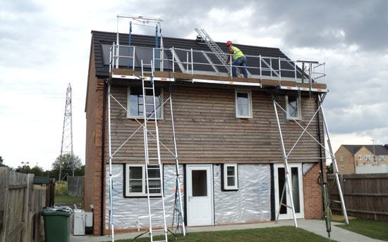 easi dec solar access system in use