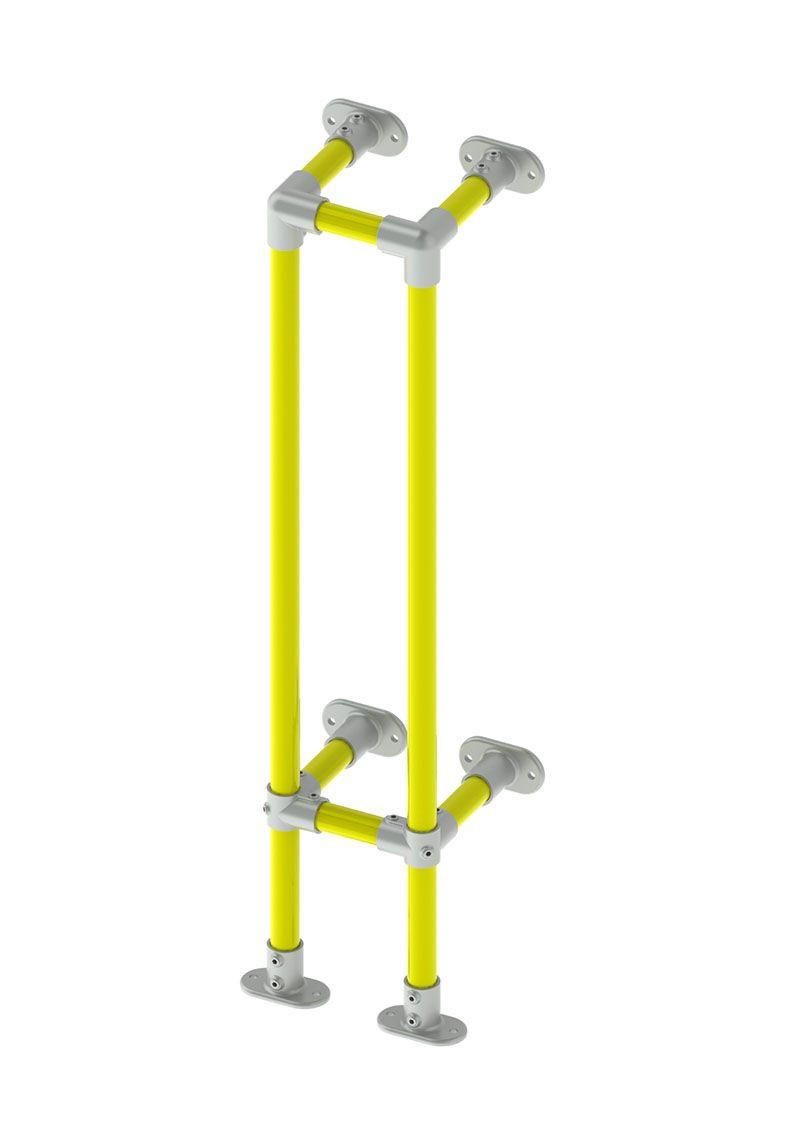 vertical protection barrier render