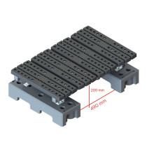 mini step over platform measurements