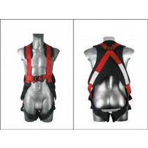 rapid don harness with body pad