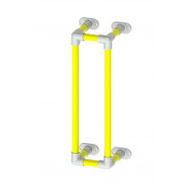 """Pipe protection barrier - 1m tall (approx 39"""")"""