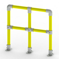 racking protection barrier system