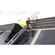 easi dec solar bridging ladder in use