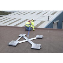 Weightanka (WTA) - Portable dead weight anchor for asphalt, mineral felt and concrete roofs
