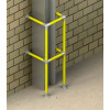 structural protection barrier installation example