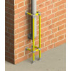 vertical protection barrier installation example