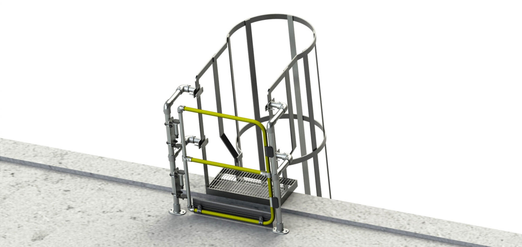 gates for fixed ladders