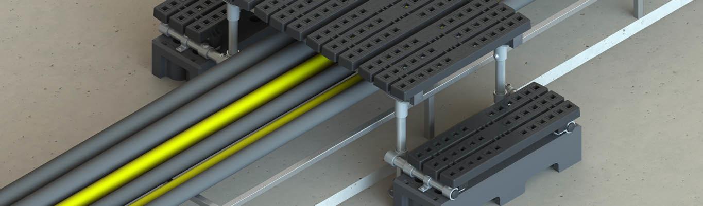 Mini stepover platforms