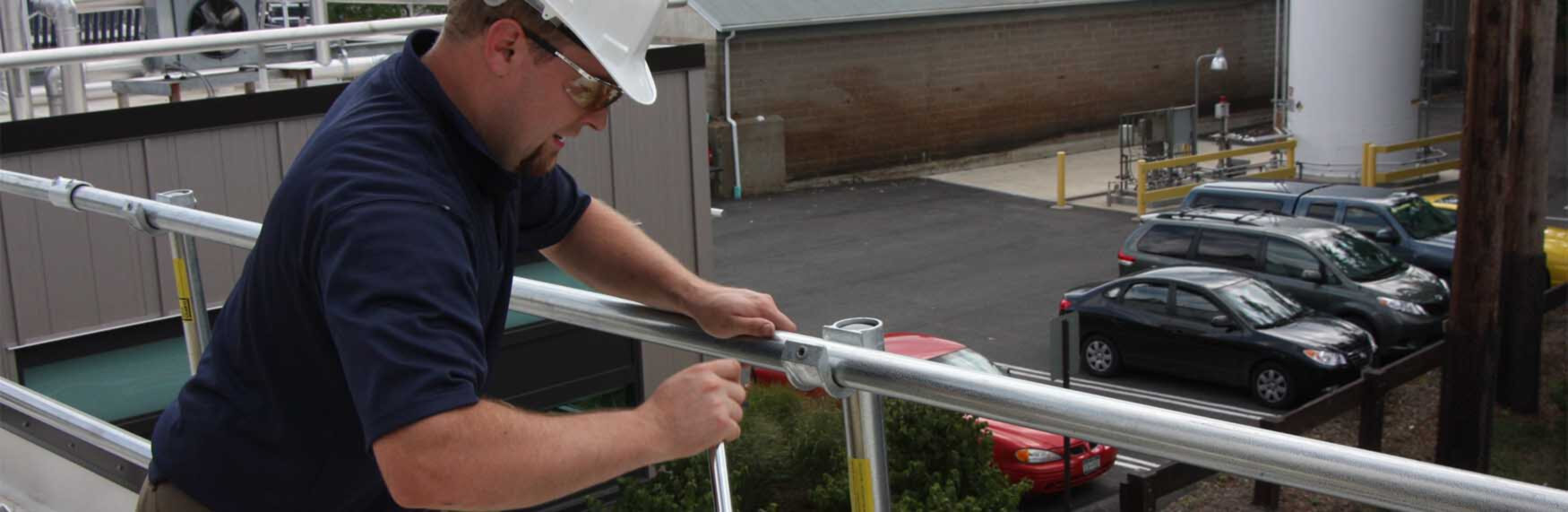 fall protection installation and site survey services