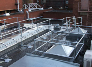 Keedome Skylight Protection Barriers Simplified Safety