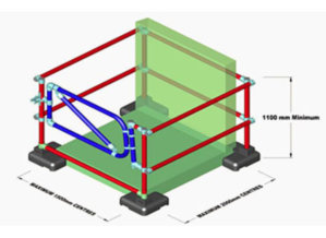 KDH3 Kee Dome Hatch Guard with Gate