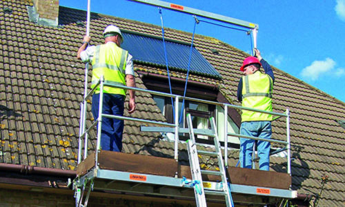 Solar panel installation systems