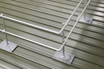 Trapezoidal or standing seam