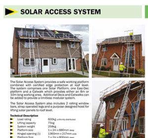 Solar Platform 8 and 10m