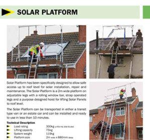 Solar Platform 2m