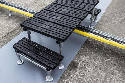 Buy online: Mini step overs for cable trays and pipes