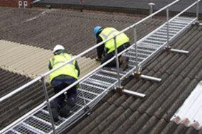 Roof mesh platform