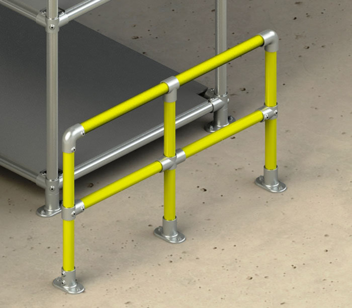 High vis barrier kits