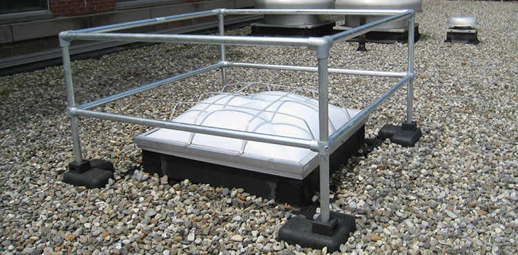 Kee Dome freestanding fragile roof protection