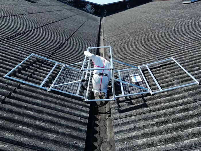 gutter maintenance platform