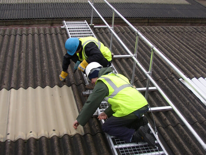 scaffolding alternative platform