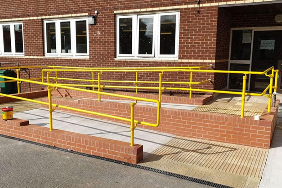 DDA handrail for schools