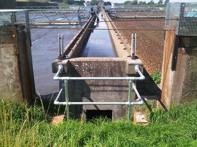 handrail guardrail for water treatment