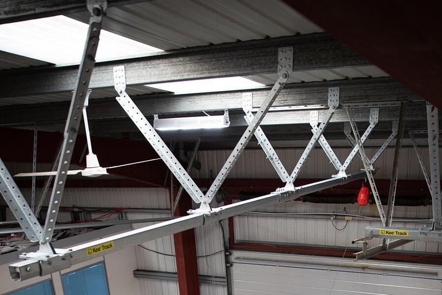 KeeGuard roof railing training