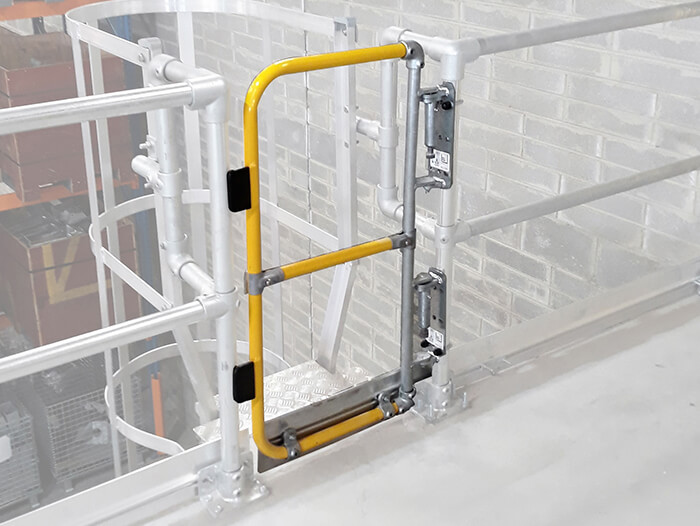 fixed ladder gate
