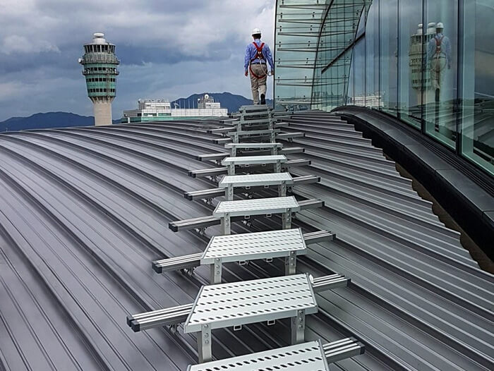 easy to install walkway for roofs