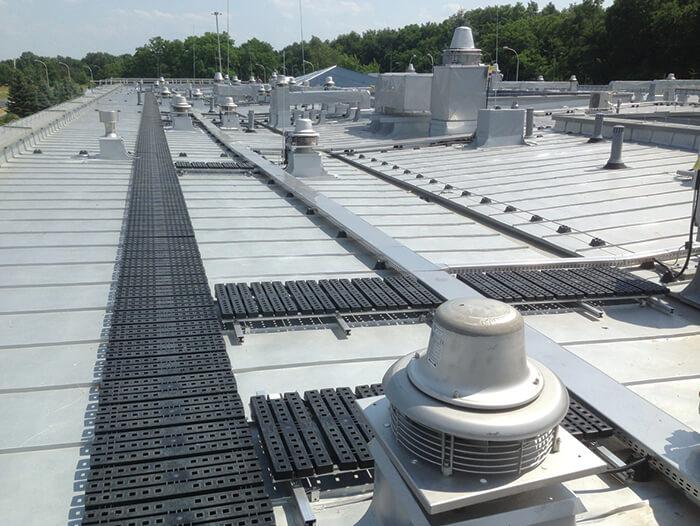 modular rooftop walkway