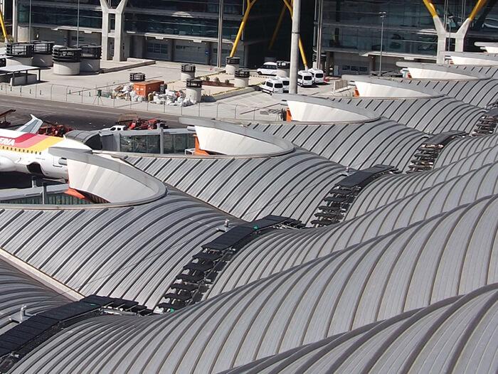 anti slip roof walkway system