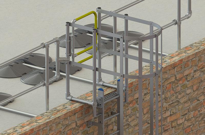 full ladder safety